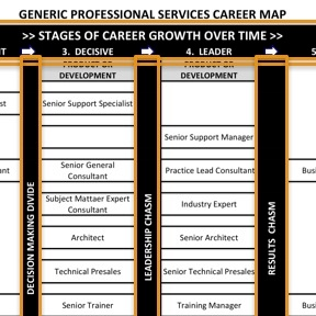Professional Services Career Map