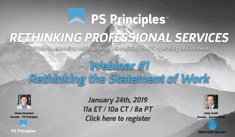 Rethinking Professional Services Executive Webinar Series