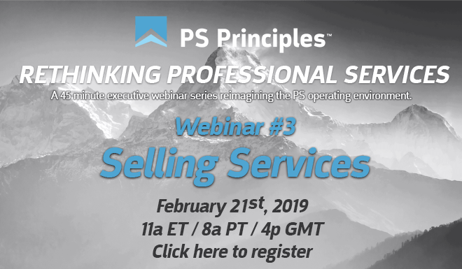 Rethinking Professional Services PSCC Banner - EP03 Selling Services