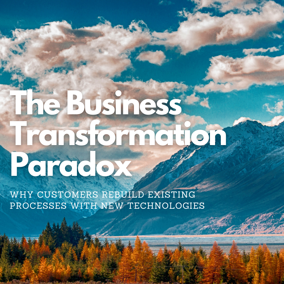 The Business Transformation Paradox